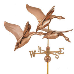 GD524P Copper Weathervanes