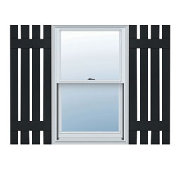 LS4C Board-n-Batten Shutters
