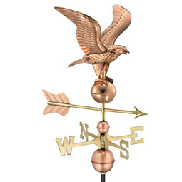 GD1776P Copper Weathervanes