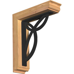 Versailles Traditional Ironcrest Rustic Timber Wood Bracket