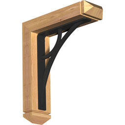 BKTIGL03 Ironcrest Wood & Metal Brackets