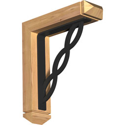 BKTILO03 Ironcrest Wood & Metal Brackets