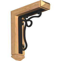 BKTIOL03 Ironcrest Wood & Metal Brackets