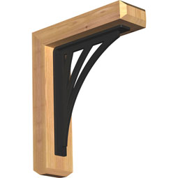 BKTINE04 Ironcrest Wood & Metal Brackets