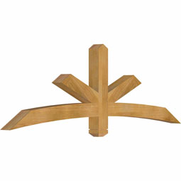 GBWALB00 Wood Gable Bracket Pediments