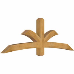Davenport Rustic Timber Gable Bracket