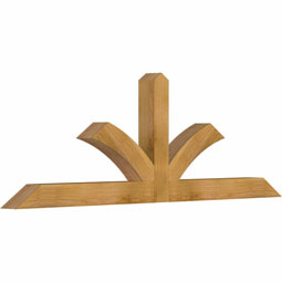 Richland Rustic Timber Gable Bracket
