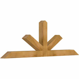 Saratoga Rustic Timber Gable Bracket