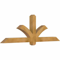 GBWRED00 Wood Gable Bracket Pediments