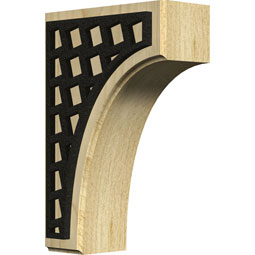 BKTWCVMO Wood Brackets w/ Ironcraft Inlays