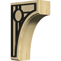 BKTWCVPO Wood Brackets w/ Ironcraft Inlays