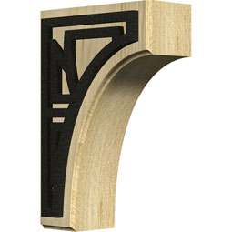 BKTWCVSO Wood Brackets w/ Ironcraft Inlays