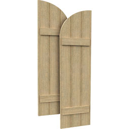 SH3PHLR Rough Sawn Shutters