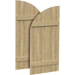 SH4PHLR Rough Sawn Shutters