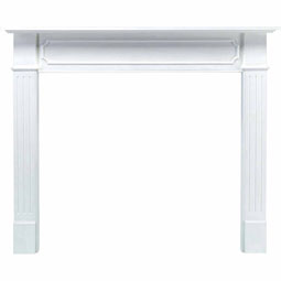 MAN52X08X62BEWH Fireplaces & Mantels