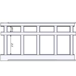 RCW-2-50 Wainscot Components & Accessories
