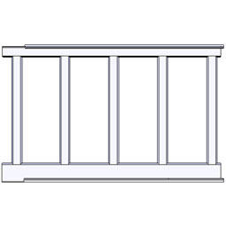 RCW-1-60 Wainscot Components & Accessories