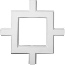 "36""W x 2""P x 36""L Inner Square Intersection for 5"" Traditional Coffered Ceiling System"