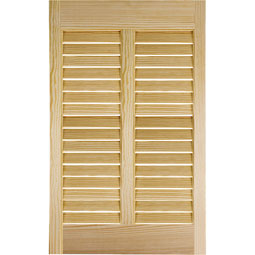 ABACUSTOMWOOD Wood Bahama Shutters