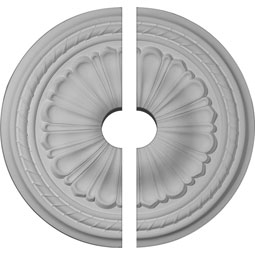 "CM20AL2-03500 18"" to 25"" Ceiling Medallions"