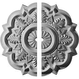 "CM20DR2-01500 18"" to 25"" Ceiling Medallions"