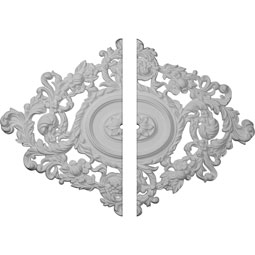 CM30KT2-01000 Oval Ceiling Medallions