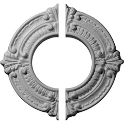 "CM09BN2 04"" to 17"" Ceiling Medallions"