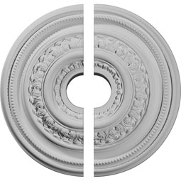 CM17OL2 Two Piece Ceiling Medallions