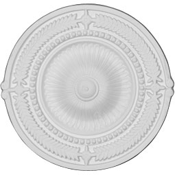 """CM09SP_P 4"""" to 17"""" Ceiling Medallions"""