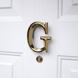 MHMG1 Monogram Door Knockers