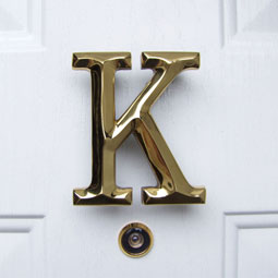 MHMK1 Monogram Door Knockers