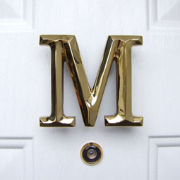 MHMM1 Monogram Door Knockers