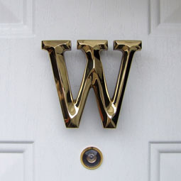 MHMW1 Monogram Door Knockers
