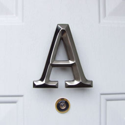 MHMA2 Monogram Door Knockers