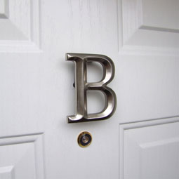 MHMB2 Monogram Door Knockers
