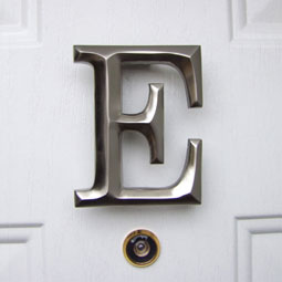 MHME2 Monogram Door Knockers