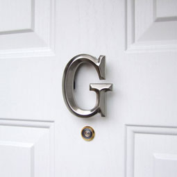 MHMG2 Monogram Door Knockers