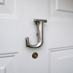 MHMJ2 Monogram Door Knockers