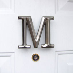 MHMM2 Monogram Door Knockers