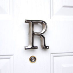 MHMR2 Monogram Door Knockers