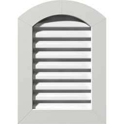 GVPAR PVC Gable Vents