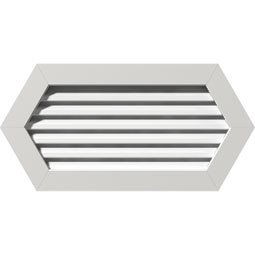 GVPHP PVC Gable Vents