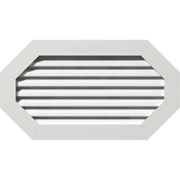 GVPOH PVC Gable Vents