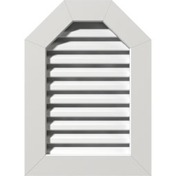 GVPOT PVC Gable Vents