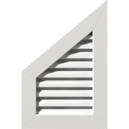 GVPPL PVC Gable Vents