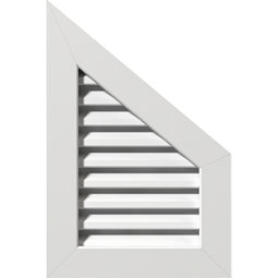 GVPPR PVC Gable Vents