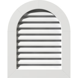GVPRT PVC Gable Vents