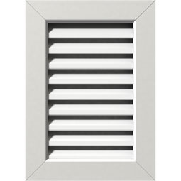 GVPVE PVC Gable Vents