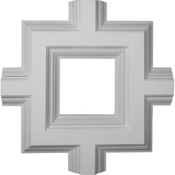 "36""W x 4""P x 36""L Inner Square Intersection for 8"" Deluxe Coffered Ceiling System (Kit)"