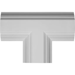 "14""W x 4""P x 20""L Inner Tee for 8"" Deluxe Coffered Ceiling System (Kit)"
